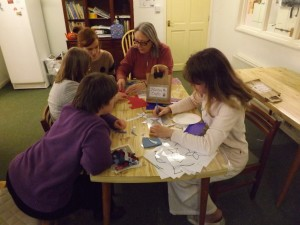 Group activity at Jennyruth Workshops