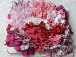 Something soft in pink and white cottons
