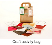 Craft activity bag